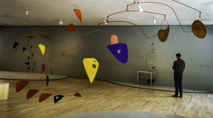 San Francisco Museum of Modern Art, San Francisco,Calder mobiles, SFMOMA