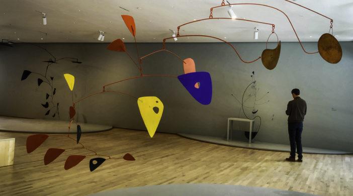 San Francisco Museum of Modern Art, San Francisco,Calder mobiles, SFMOMA