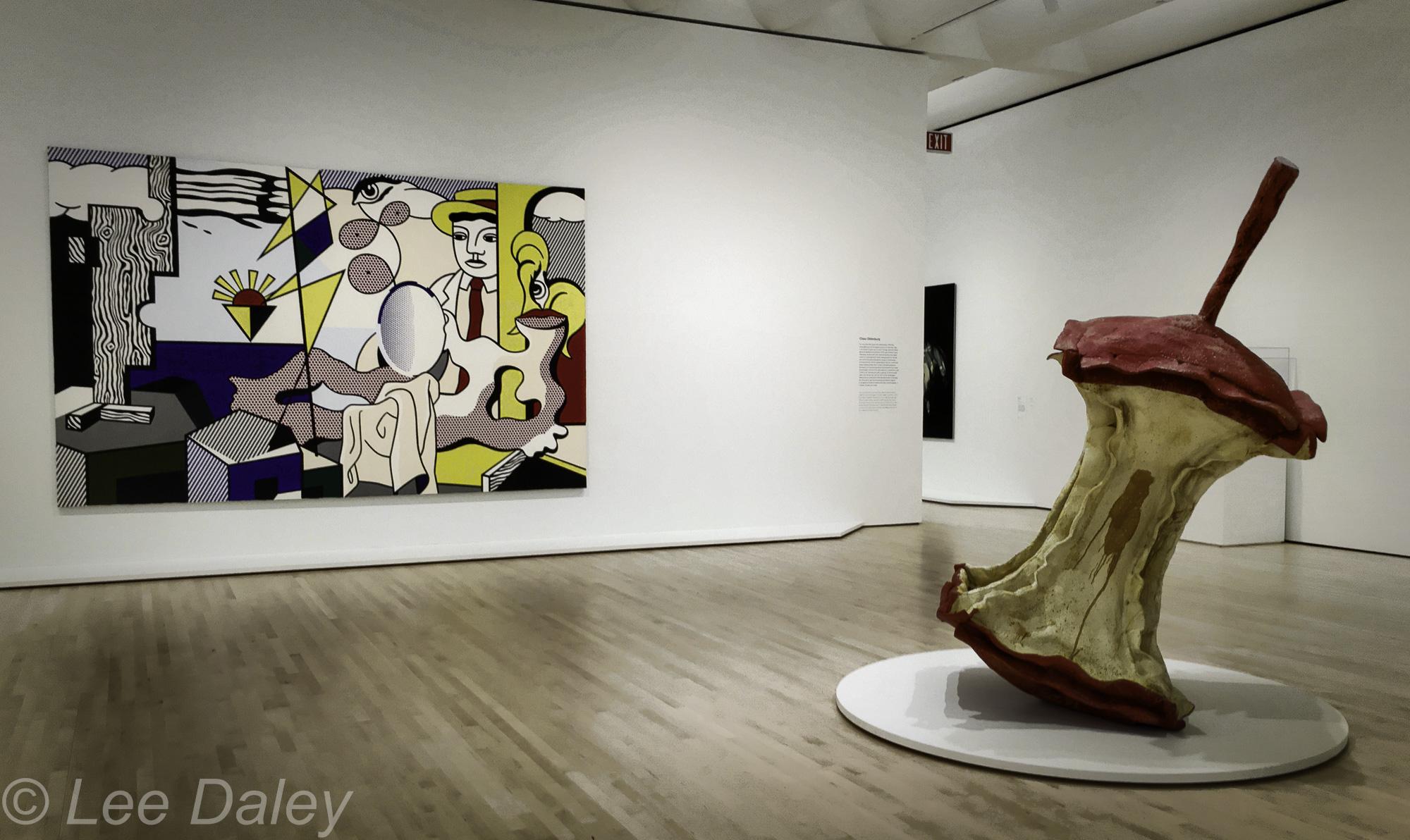 San Francisco Museum of Modern Art, SFMOMA, San Francisco, sculpture by Claes Oldenburg