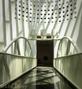 San Francisco Museum of Modern Art, SFMOMA walkway, San Francisco bridge