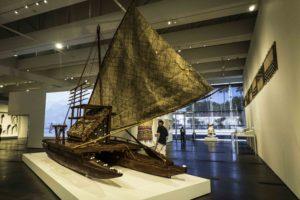 Fiji Art Exhibition, Resnick pavilion, Los Angeles County Museum of Art, Los Angeles, California