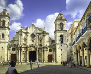 Cuba, Havana, Cathedral Square, World Heritage Site