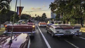fifties American automobiles, Havana, Cuba, yank tanks
