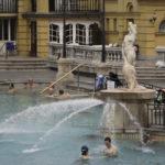 Mineral Bath, Szechenyi Spa, Budapest, Hungary