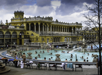 Healing Mineral Baths, Budapest, Hungary