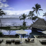 Oceanfront patio and pool, Nanuku Auberge Resort, Fiji