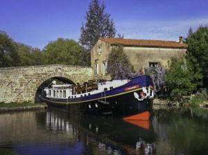 Canal Barge Anjodi, Canal du Midi, Francey of European Waterways)