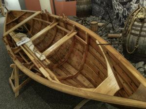 Icelandic Viking Democracy,faering boat, Maritime Museum, Reykjavik, Iceland