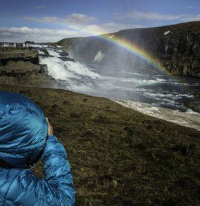Icelandic Viking Democracy,Gulfoss Waterfall, Iceland