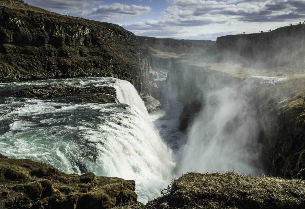 Icelandic Viking Democracy,Gulfoss Waterfall