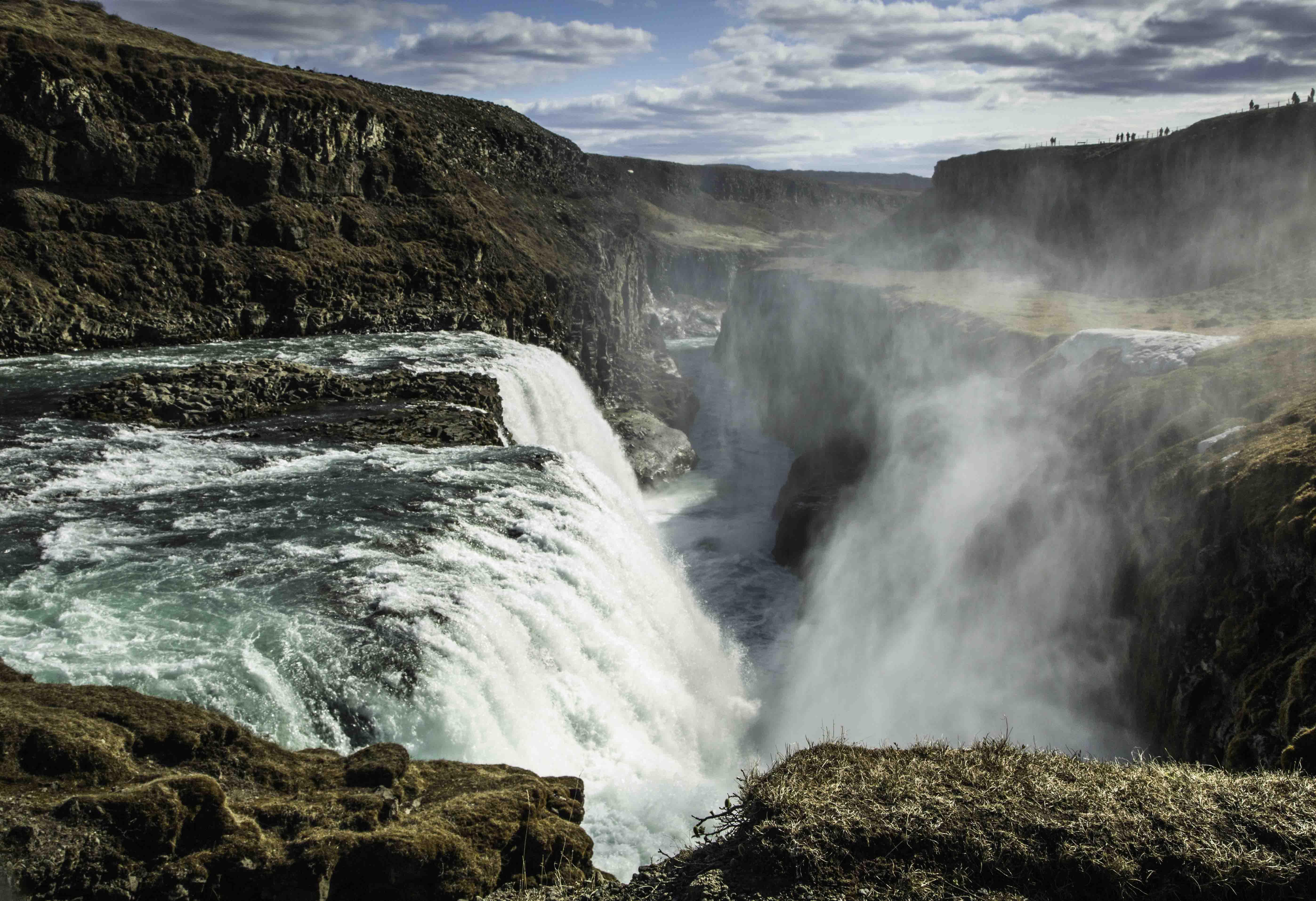 Gulfoss Waterfall Travel Examiner