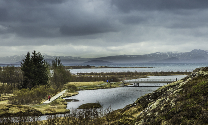 Icelandic Viking Democracy,Ϸingvellir, Iceland, Democracy, site of the annual All Thing