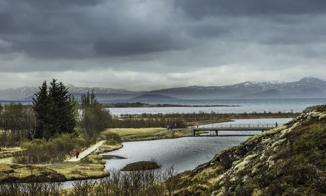 Icelandic Viking Democracy,Ϸingvellir, Iceland, Democracy, site of the annual All Thing