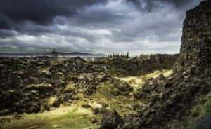 Icelandic Viking Democracy,Iceland, Democracy, Ϸingvellir, site of the annual AlϷing