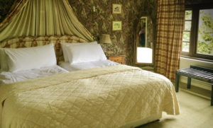 Ireland, Abbeyglen Castle Hotel guest room, Wild Atlantic Way