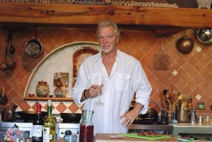 Chef Michael Coon at Casa de Cocinas cooking school in San Miguel de Allende.