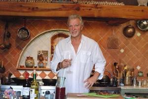 Chef Michael Coon at Casa de Cocinas cooking school in San Miguel de Allende.