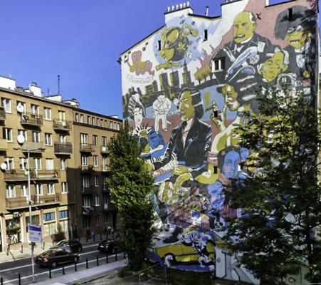 Chopin,Poland,Warsaw, Chopin Mural, Chopin Museum