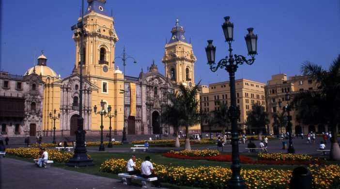 Peru Coast, Lima, Peru, Plaza Mayor