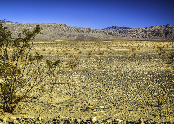 Panamint Valley, Road to Death Valley