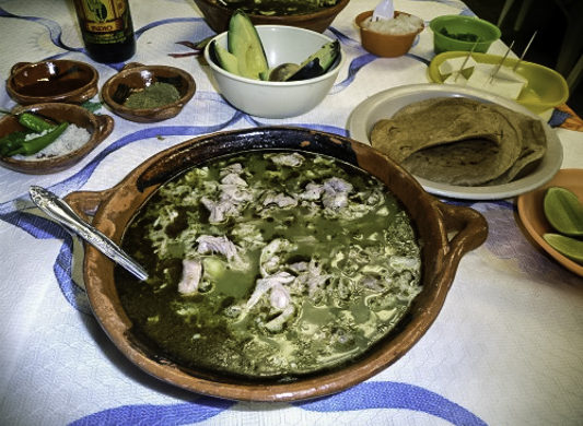 Pozole Thursdays at El Profe, Coacoyul Mexico