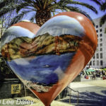 Best places to kiss in San Francisco, Heart Sculpture, Union Square, San Francisco