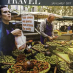 Bay Area Travel Writers 2017 publication Taste of Travel, Cover Photo by Rhonda Gutenberg.