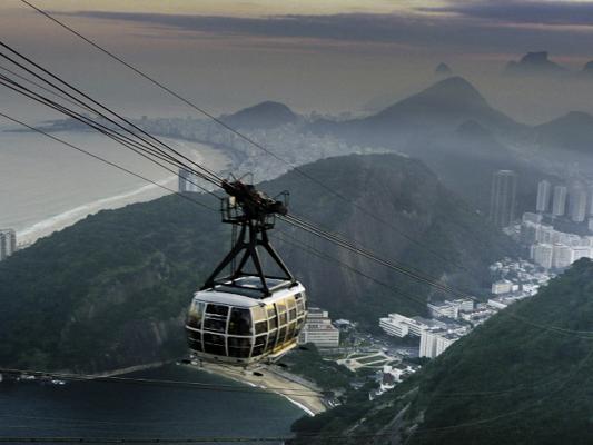 Spectacular Cable Car View of Rio de Janeiro