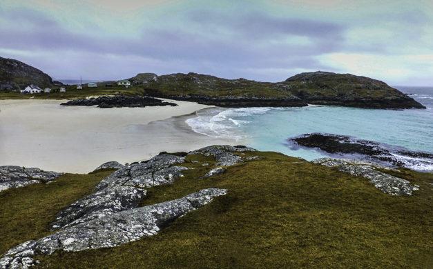 Scottish Highllands, Dazzling Achmelvich Beach, Scottish Highlands