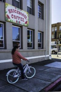 The Brickhouse Coffee Shop, Willits, California