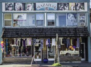 Mazahar boutique, Willits, California