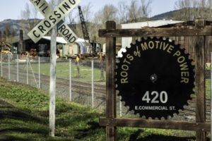 Roots of Motive Power, Willits, California