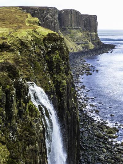 On Skye, Mealt Falls and Kilt Rock, , Scottish Highlands