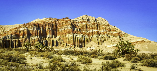 Redrock Canyon, Road to Death Valley Meditation