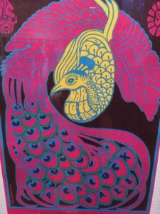 1967 Rock Poster, Summer of Love Exhibit, De Young Museum, Golden Gate Park, San Francisco, CA