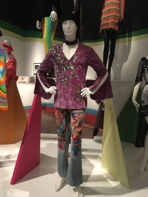 1967 Levi jeans, Summer of Love Exhibit, De Young Museum, Golden Gate Park, San Francisco, CA