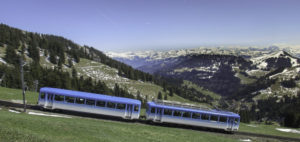 Swiss rail is the only way to travel in Switzerland