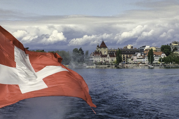 Lake Lucerne Switzerland offers amazing views of landscapes and picturesque historic lake side towns