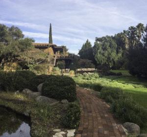 Path to dining and ?, Rancho La Puerta, Tecate, Baja California, Mexico