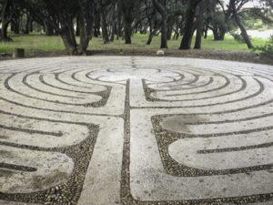 Labyrinth at Rancho La Puerta (The Door to ?), Tecate, Baja California, Mexico
