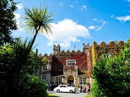 Waterford Castle, Ireland, haunted caslte, site of Fairy Rings,