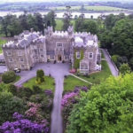 Fairy Ring search at haunted Waterford Castle on private 310 acre Ballinakill Island, Waterford City, Ireland