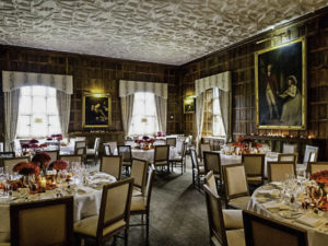 Munsterm dining room, Waterford Castle, Ballinakill Island, Waterford City, Ireland