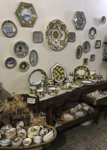 Ceramics of Certaldo, Tuscany, Italy