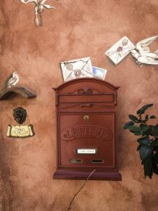 Mailbox Certaldo, Tuscany, Italy