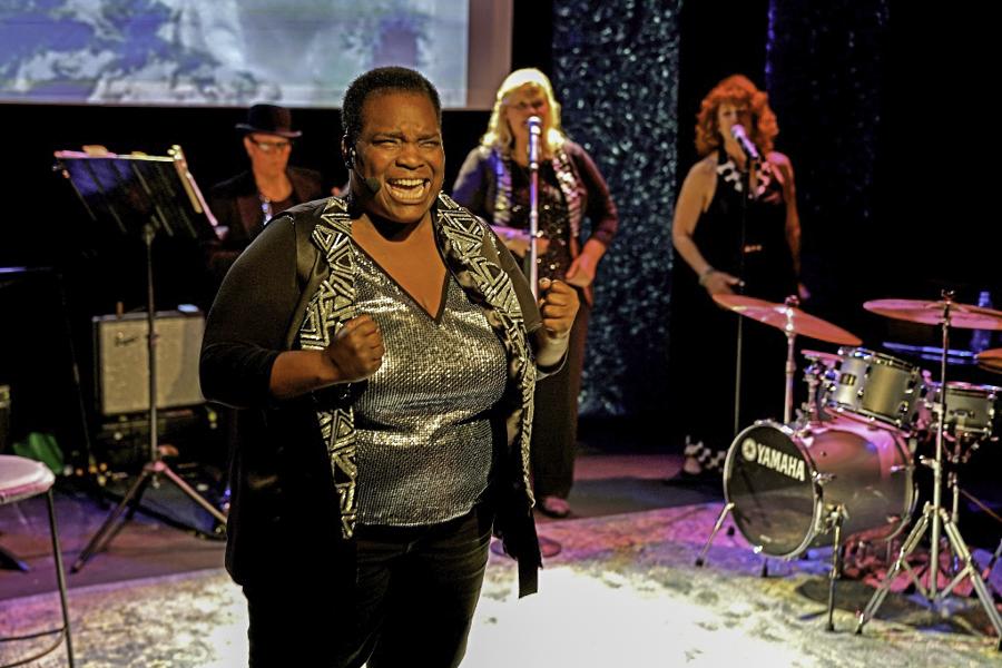 Shaunna Hall, Kristin Strom and Pamela Rose, Blues is a Woman, Custom Made Theater, San Francisco, CA