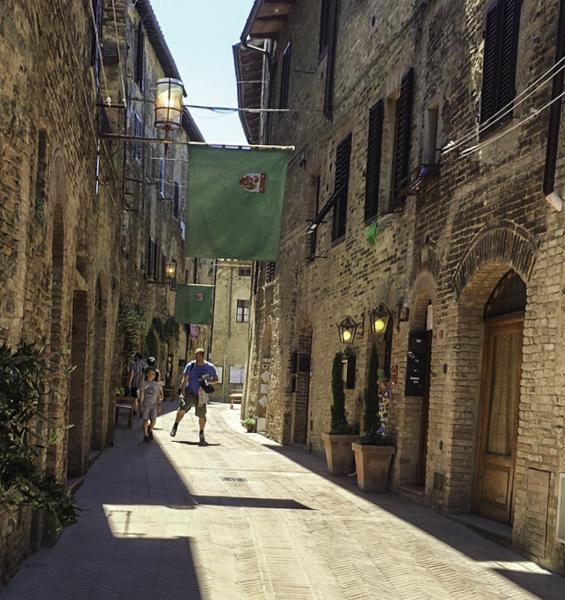 scenic medieval Volterra, Tuscany, Italy