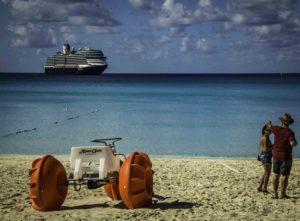 Shore excursion, Half Moon Cay, Holland America Lines, ms Nieuw Amsterdam