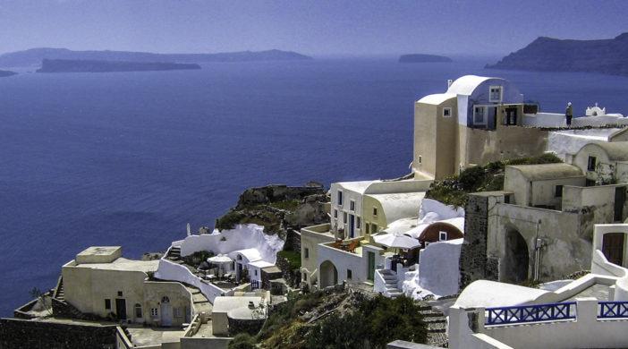 Georgos greek wine captures the spirit of wines produced on the island of Santorini, Greece