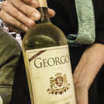 Greek Wines from Sonoma, Georgós Nu Greek wine imported from Santorini captures the character of wines produced on the island of Santorini, Greece